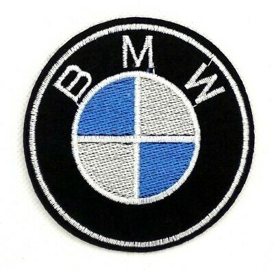 NEW BMW Sew Iron On Patch Embroidered Motorcycles Racing Sport 351