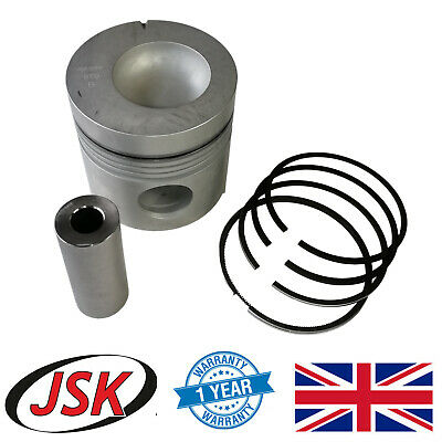 """4.4"""" Piston + Pin & Rings for Ford New Holland 3610 3910 4000 4600 5000 5610 ..."""