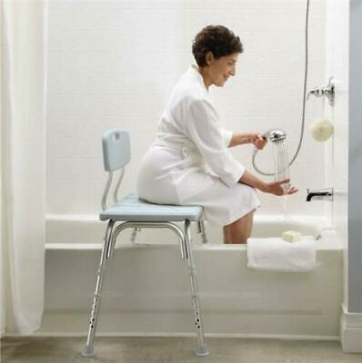 Transfer Disability Aid Support Bathroom Bath Shower Bench Chair Seat Stool New