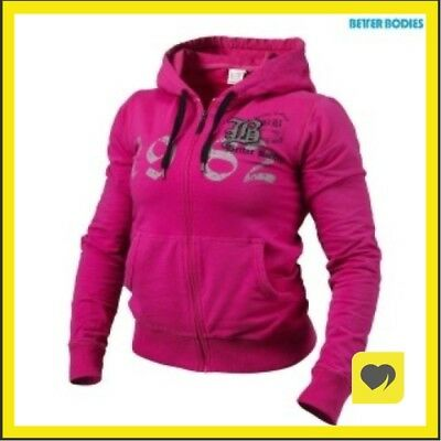 Fitness & Jogging Damen-Sport-Shirts & -Tops Better Bodies PERFORMANCE HOODIE GREYMELANGE LARGE > maglie felpe