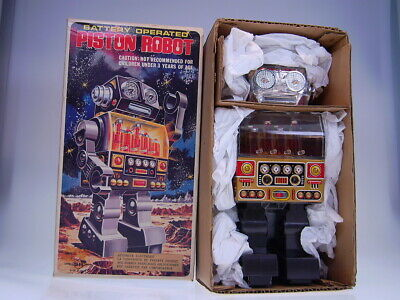 "GSR ""PISTON ROBOT"", SH HORIKAWA MADE IN JAPAN, 25cm, BO OK, NEARLY NEW/NEU I"