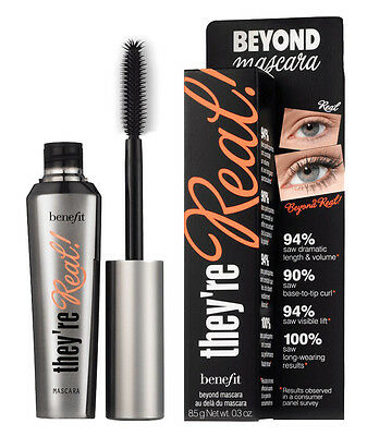 992ce91c203 BENEFIT COSMETICS THEY'RE Real! Lengthening Mascara Deluxe Travel ...