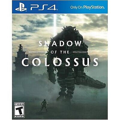 Brand New Sealed Shadow Of The Colossus PS4 Playstation 4 Game Free Shipping NIB