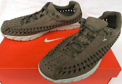 00695efddf50 Nike Mayfly Woven 833132-200 Olive Marathon Running Sneakers Shoes Men s  9.5 New