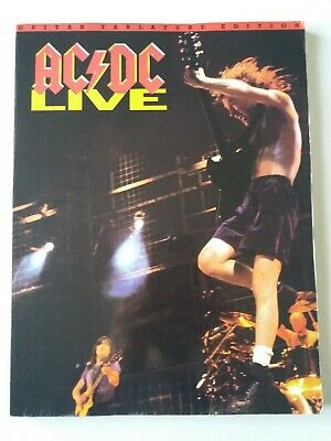 ACDC Live Guitar Tablature Edition