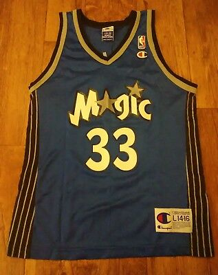 7d26df1299bd Vintage 90 s Orlando Magic Grant Hill  33 Champion Youth Jersey Large (14-16