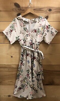 72ef3f15306ee NWT ANTHROPOLOGIE AVIAN Kimono Midi Dress Size 0 - $50.00 | PicClick