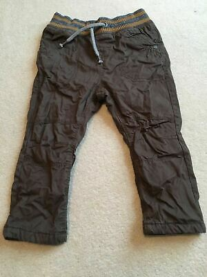 Boys 12-18 Months Brown Trousers Cargo Style S/N104