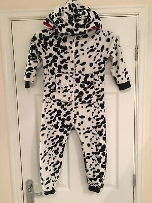 Girls 5 Years Super Fluffy Next All In One Lounge Suit Sleep Suit S/Nssuit