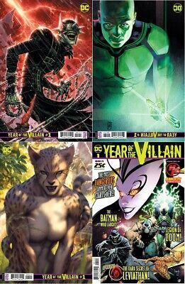 DC Comics Year of the Villain #1 ALL FOUR COVERS! 1:250, 1:100, 1:500 and Main