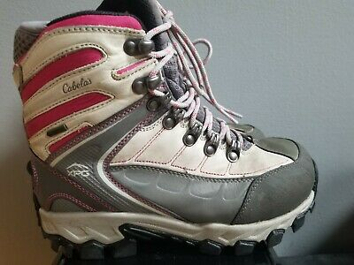 ed941503229 CABELA'S WOMEN'S 8 M Gray/Pink Multi Sport Premium X Hiking/Trail ...