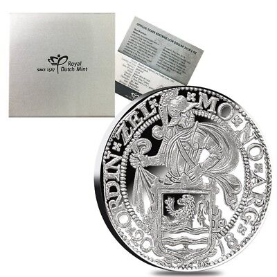 2018 Netherlands Silver 1 oz Lion Dollar Proof Restrike