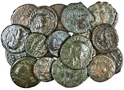 FORVM Lot 20 Nice Roman Provincial Bronze Coins 15-21 mm Mostly VF