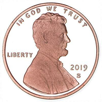 2019 S Lincoln Shield Penny- Deep Cameo Proof **ready For Free Shipping**