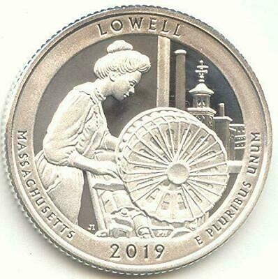 2019- S SILVER PROOF LOWELL NAT. HISTORIC PK.99.9% SILVER DEEP CAMEO  *Pre-Sale*