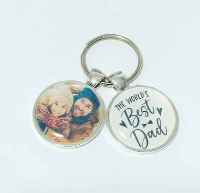 The worlds best Dad photo keyring fathers day gift dad gifts