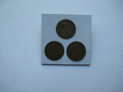 1944 pds wheat pennies (3 coins)