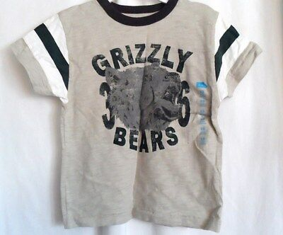 Boys Xl 14 Tan Ferocious Grizzly Bear Heavy Shirt Nwt The Children's Place