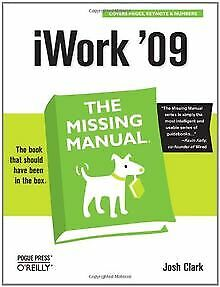 iWork 09: The Missing Manual | Book | condition good