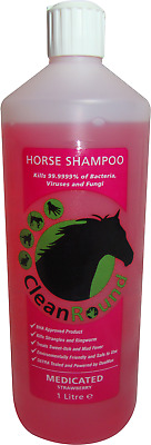 CleanRound Medicated Shampoo Strawberry - 1 Litre