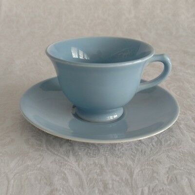 LuRay Pastels TS&T Cup & Saucer  WINDSOR BLUE   PERFECT
