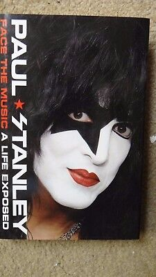 Paul Stanley Face the Music: A Life Exposed  AUTOGRAPH SIGNED BOOK KISS BAND