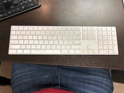 29a1d1503c8 Apple A1843 Magic Keyboard with Numeric Keypad Wireless, Rechargeable No  Reserve