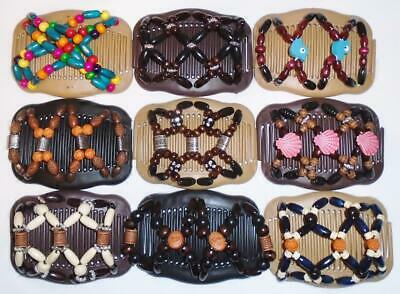 "S13 African Butterfly Double Magic Angel Wings Hair Clips 4x3.5/"" US SELLER"
