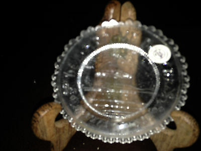 Pairpoint or Fenton Cup Plate Jefferson Memorial Pre-Owned