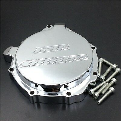 For Honda CBR1000RR 2004 2005 2006 2007 Engine Stator cover CHROME Left side