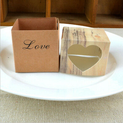 Kraft Paper Candy Box Cake Candy Sweet Case Wedding Favor Packaging Gift Bags MA