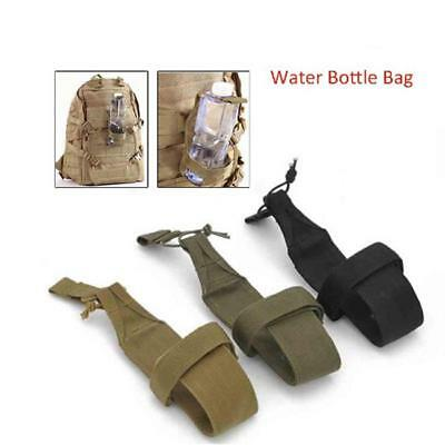 Outdoor Water Bottle Bag Military Hiking Belt Holder Kettle Pouch Camping MA