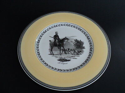"Villeroy & Boch Germany Audun Chasse 10 3/4"" Le Depart Dinner Plate unused"