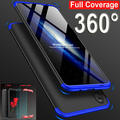 360° Full Protective Case for Huawei Y9 PSmart 2019/Mate20 Lite Cover+Glass Film
