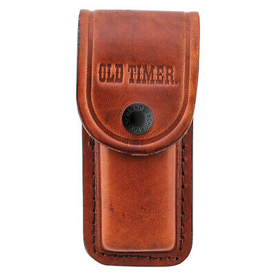 NEW Old Timer Large Leather Sheath Brown LS2