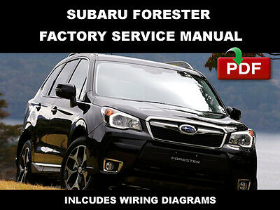 subaru 2011 2012 2013 2014 forester workshop repair service shop manual