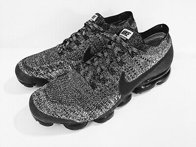 f658fa5f7e Nike Air VaporMax Oreo 2.0 Size 13 Flyknit Black White Running Shoes  849558-041