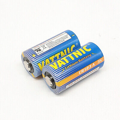 Instrumentation CR123A Camera Battery 3V Rechargeable Battery CR17345 CR2 1PCS