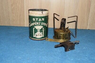 Rare Vintage Star Camper's Stove Old Tool