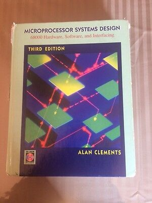 Microprocessor Systems Design By Alan Clements 3rd Edition 13 60 Picclick