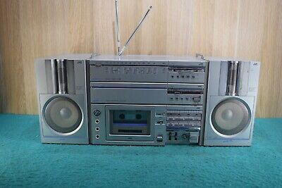 Vintage Retro JVC PC Boom Box Portable Cassette Deck Radio Made In Japan