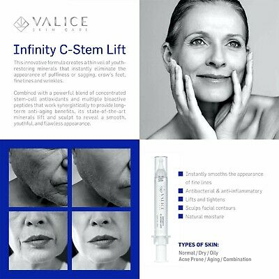 Infinity Instant Lift Stem Cell Complex Compare to Ageless Plexaderm Genucel