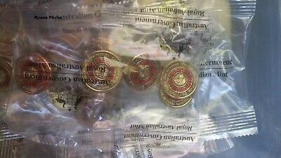 2019 Repatriation 5 Coin Mint Bag.  X 10 bags. (50 Coins)