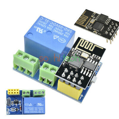 DC 5V WiFi Relay Module Switch ESP8266 ESP-01 Phone TOI APP Remote Control