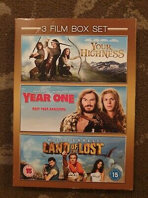Your Highness / Year One / Land Of The Lost  Dvd  3 Films