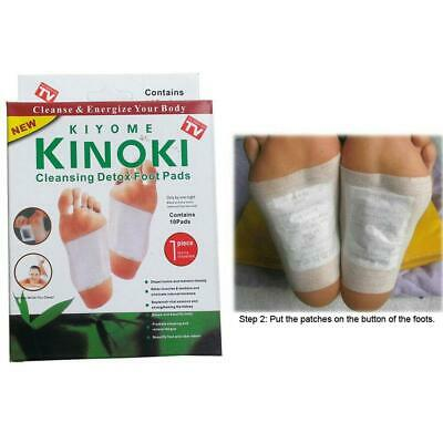 Kinoki Detox Foot Patch 10 Pads Feet Patches Remove Body Toxins Weight Loss