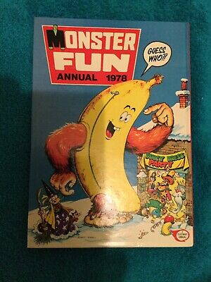 Monster Fun Annual 1978 - As New - Superb Condition