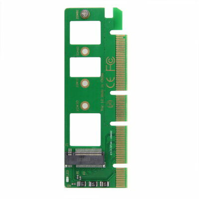 PCI-E 3.0 16x 4x to NGFF M-key NVME AHCI SSD Motherboard Adapter for XP941 SM951