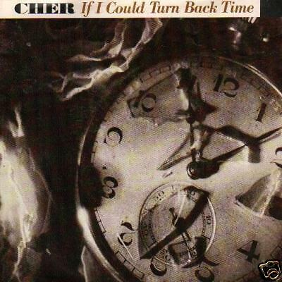 """Jukebox Single 45 Cher If I Could Turn Back Time 7 """""""