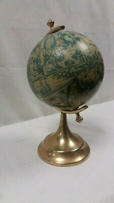 Reproduction, Brass Mounted Desk Globe